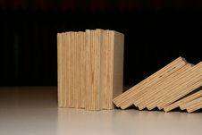 Free Wooden Domino Stock Image - 3553891
