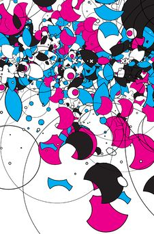 Free Pink & Blue Royalty Free Stock Image - 3554136