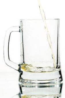 Free Beer In Glass Stock Image - 3554671