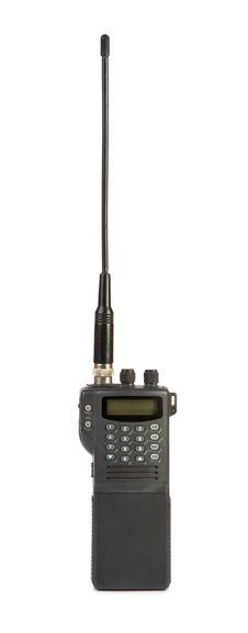 Portable Radio Transceiver Royalty Free Stock Photography