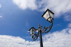 Free Street Lamp Royalty Free Stock Images - 3555499