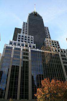 Free New York City Skyscraper Royalty Free Stock Photography - 3555677
