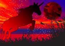 Free Unicorn Wallpaper Royalty Free Stock Images - 3558029