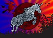 Free Unicorn Illustration Royalty Free Stock Images - 3558099
