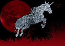 Free Unicorn In Grass Royalty Free Stock Photos - 3558108