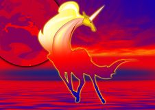 Free Unicorn Poster Stock Images - 3558114