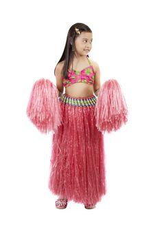Free Hawaiian Costume Royalty Free Stock Photography - 3558817