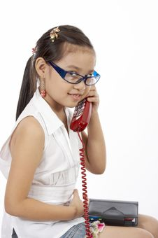 Free Phonecall Royalty Free Stock Images - 3558889