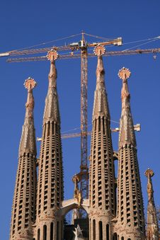 Free Sagrada Familia, Barcelona Royalty Free Stock Photo - 3558925