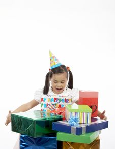 Free Birthday Girl Stock Photography - 3558962
