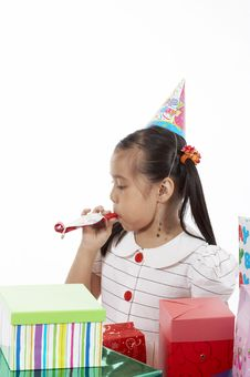 Free Birthday Girl Royalty Free Stock Photo - 3558985