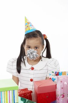 Free Birthday Girl Royalty Free Stock Photo - 3558995