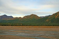 Free Glacier Bed Stock Photo - 3559000