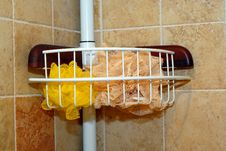 Free Shower Caddy Stock Photography - 3559512