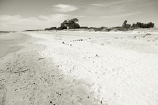 Natural Seaside Royalty Free Stock Photography