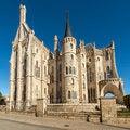 Free Episcopal Palacel Of Astorga, Leon, Spain. Stock Photos - 35509053