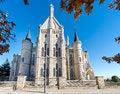 Free Episcopal Palace In Astorga, Leon, Spain. Stock Image - 35509341