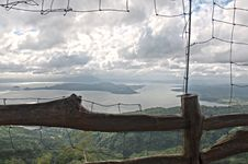 Taal Volcano In HDR Royalty Free Stock Images