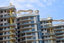 Free Apartment Buildings Royalty Free Stock Photos - 35502348