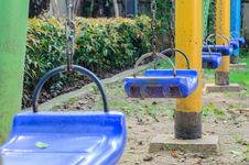 Free Playground Swings Stock Photos - 35507093