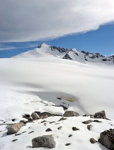 Tien Shan Mountains In Kazakhstan Stock Photo