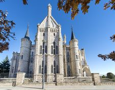 Free Episcopal Palace In Astorga, Leon, Spain. Stock Image - 35509341
