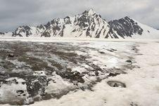 Tien Shan Mountains In Kazakhstan Stock Image