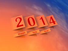 Free 2014 Happy New Year Stock Photos - 35509753