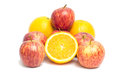 Free Apples And Oranges Royalty Free Stock Photo - 35513175