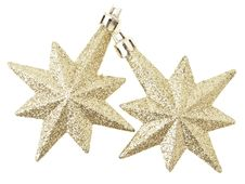 Free Dual Gold Stars Royalty Free Stock Photos - 35511638