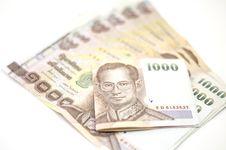 Free Thai Banknote Stock Photo - 35514940