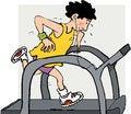 Free Running Machine Stock Photo - 35529430