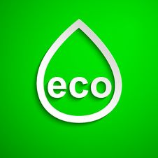 Eco Symbol. Design Element. Eps10 Stock Photography