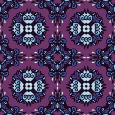 Free Seamless Pattern Ethnic Abstraction Stock Images - 35525064