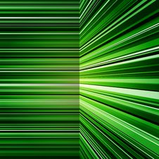 Free Abstract Warped Green Stripes Colorful Background Royalty Free Stock Photo - 35526095