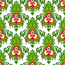 Free Christmas Seamless Pattern Winter Holiday Royalty Free Stock Photography - 35528487