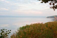 Free Autumn Lake Shore Stock Photo - 35536030