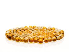 Free Pills With Cod-liver Oil Royalty Free Stock Images - 35539519