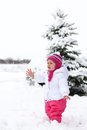 Free Gorgeos Baby Girl In Wintertime Royalty Free Stock Photo - 35546425