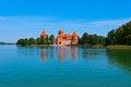 Free Medieval Trakai Castle Stock Image - 35548071