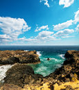 Free Beach Of Lansarote - Canary Island Stock Images - 35548254