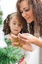 Free Woman And Her Daughter Stock Photography - 35548322
