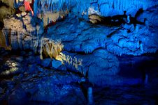 Kumistavi Cave &x28;Prometheus Cave&x29; Royalty Free Stock Images