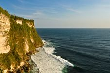 Free Uluwatu Cliffs In Bali Island, Indonesia Stock Photos - 35547893
