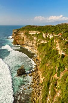 Free Uluwatu Cliffs In Bali Island, Indonesia Stock Photography - 35547952