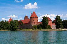 Free Medieval Trakai Castle Royalty Free Stock Image - 35548176