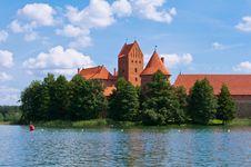 Free Medieval Trakai Castle Royalty Free Stock Photo - 35548185