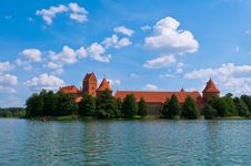 Free Medieval Trakai Castle Royalty Free Stock Images - 35548199