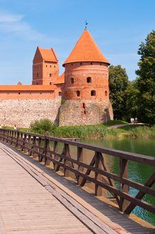 Free Medieval Trakai Castle Royalty Free Stock Photos - 35548348