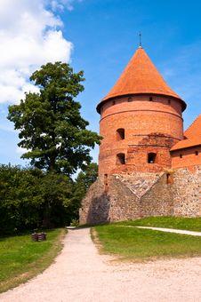 Free Medieval Trakai Castle Near Vilnius, Lithuania. Royalty Free Stock Photo - 35548525